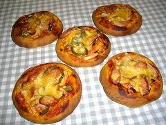 ミニカレーピザ